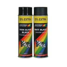 peinture spray noir mat motip 500ml amps49 anjou moto pi ces services. Black Bedroom Furniture Sets. Home Design Ideas