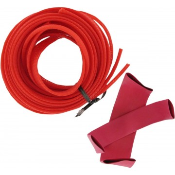 GAINE COVER CABLE/LINES RED pièce moto
