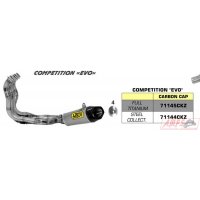 KIT FULL TITANE COMPETITION BMW S 1000 R'14-15 AVEC SILENCIEUX WORKS (VERS.BASSA)