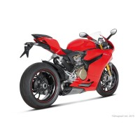 SILENCIEUX AKRAPOVIC TITANE&CARBONE DUCATI PANIGALE 899/1199 S-D9SO4-T pièce moto