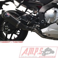Intermédiaire / Suppression Catalyseur (inclus dB-killer) YZF R1 15-18