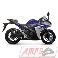 Silencieux Slip On - Embout silenc. CARBONE YZF R3 15-18