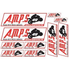 Planches d'autocollants AMPS 49