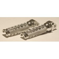 FOOTPEGS SILVER SUZ-REAR