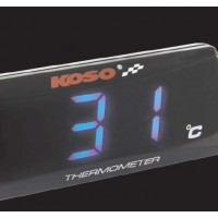 THERMOMETER BLUE SUPER SLIM pièce moto