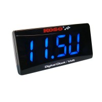 CLOCK & VOLTMETER SUPER SLIM
