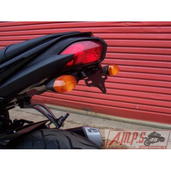 SUPPORT DE PLAQUE R\u0026G RACING YAMAHA FZ8/FZ1N