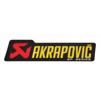 Autocollant - AKRAPOVIC AKRAPOVIC SP LOGO STICKER 90 x 26,5 MM pièce moto