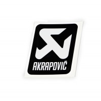 Autocollant - AKRAPOVIC AKRAPOVIC BK LOGO STICKER VERTICAL 75 MM pièce moto